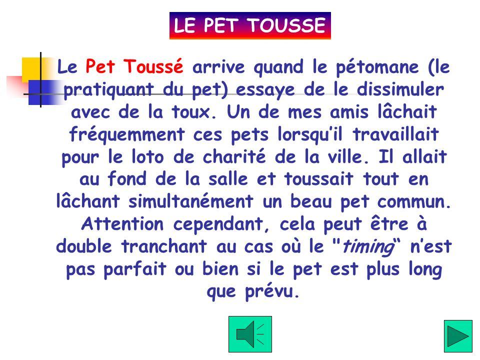 LE PET TOUSSE