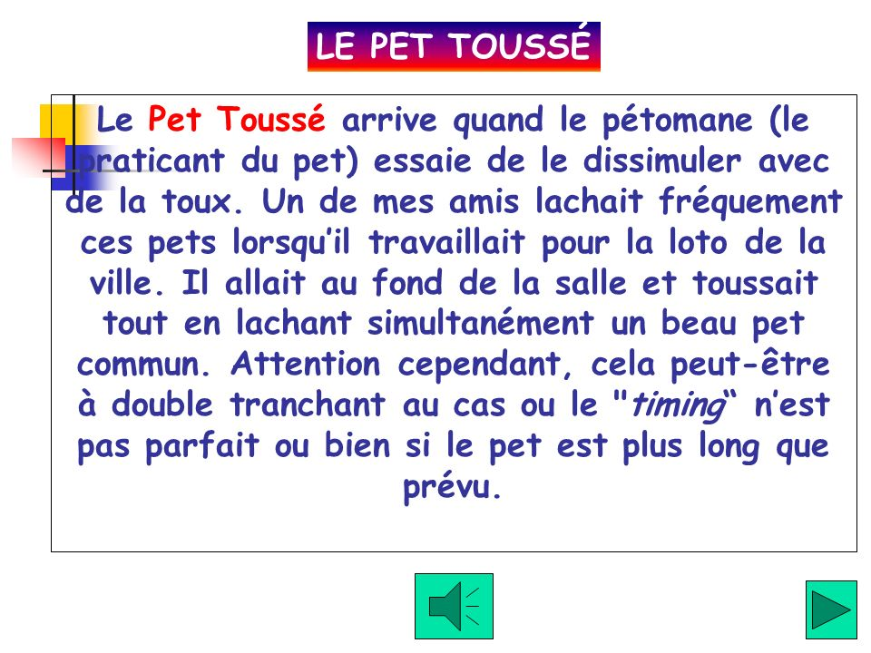 LE PET TOUSSÉ