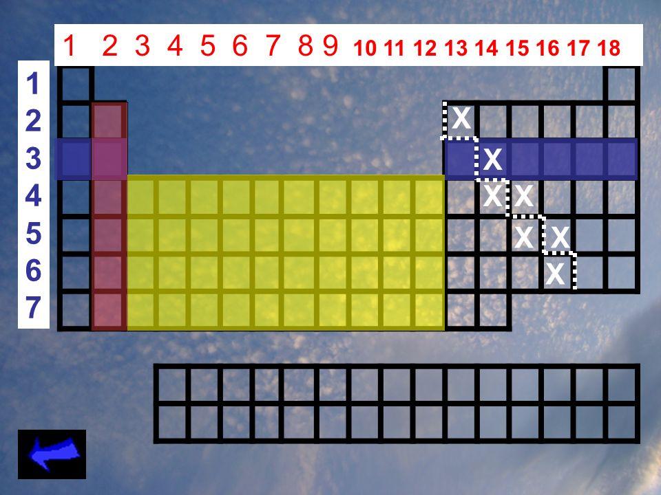 1 2 3 4 5 6 7 8 9 10 11 12 13 14 15 16 17 18 1 2 3 4 5 6 7 X X X X X X X