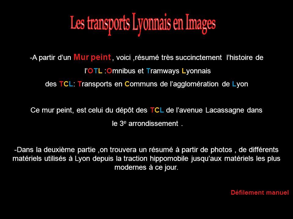 Les transports Lyonnais en Images