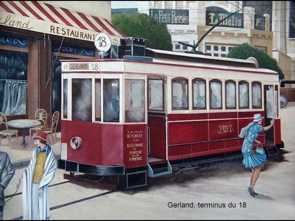 Gerland, terminus du 18