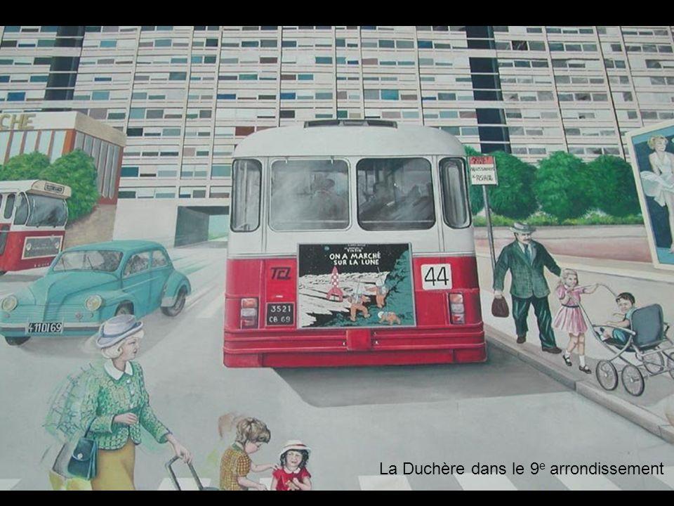 La Duchère dans le 9e arrondissement