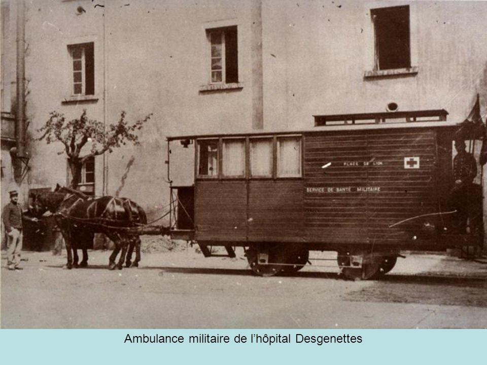 Ambulance militaire de l'hôpital Desgenettes