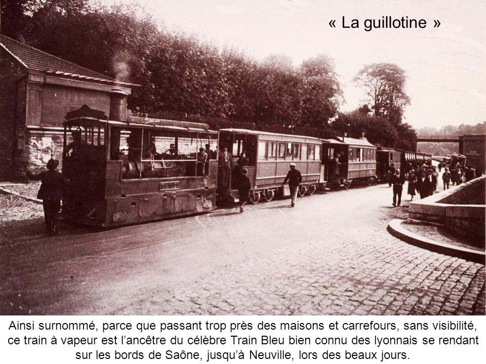 « La guillotine »