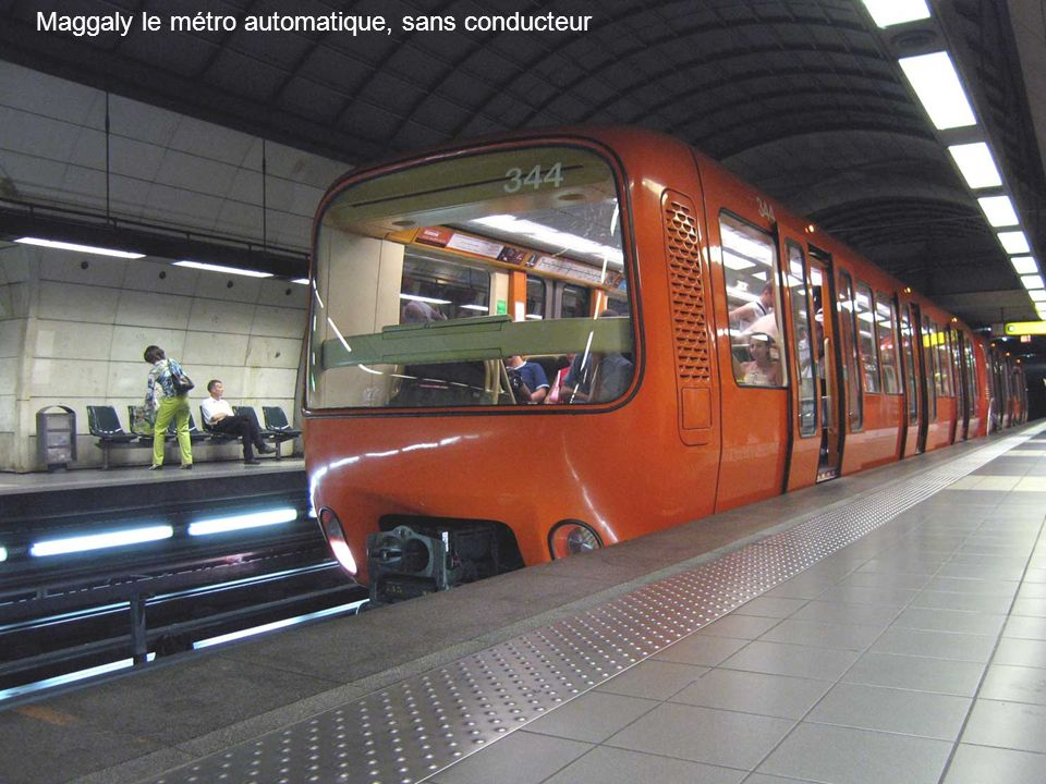Maggaly le métro automatique, sans conducteur