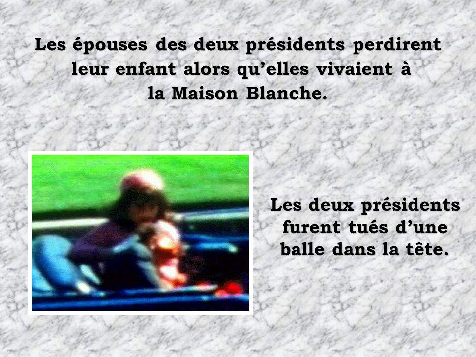 Les épouses des deux présidents perdirent