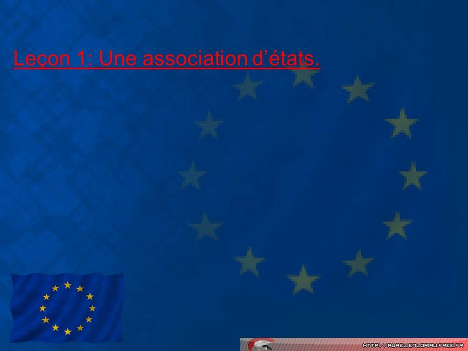 Leçon 1: Une association d'états.