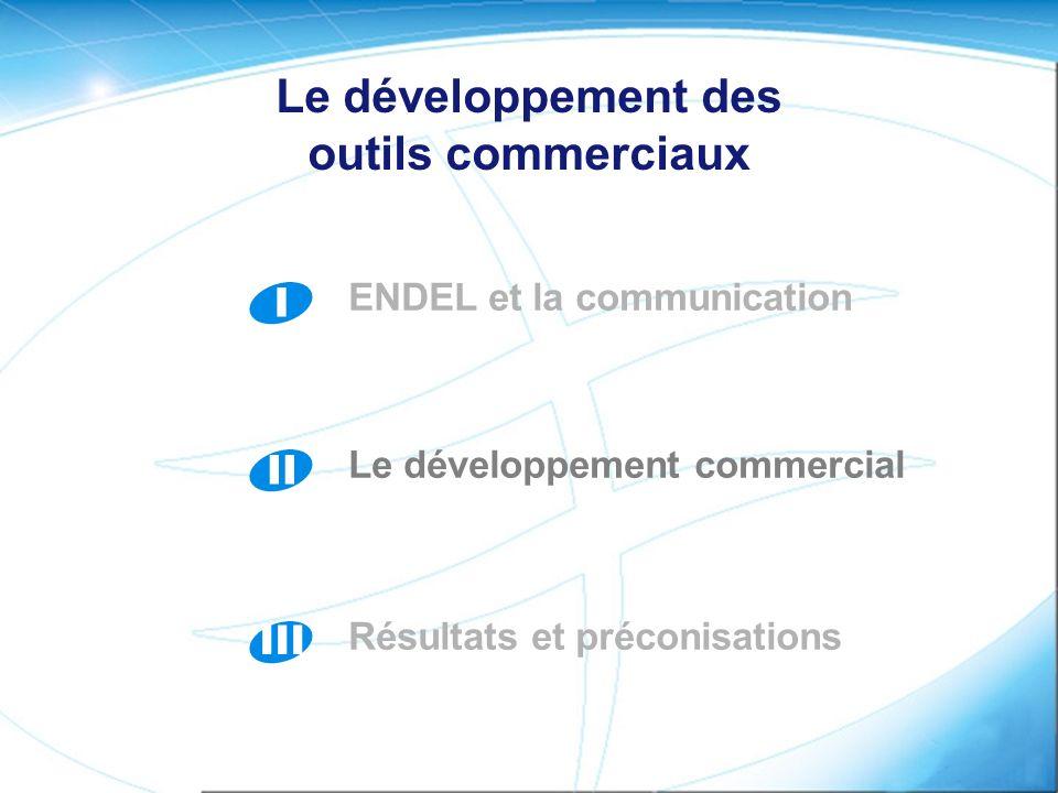 Le développement des outils commerciaux