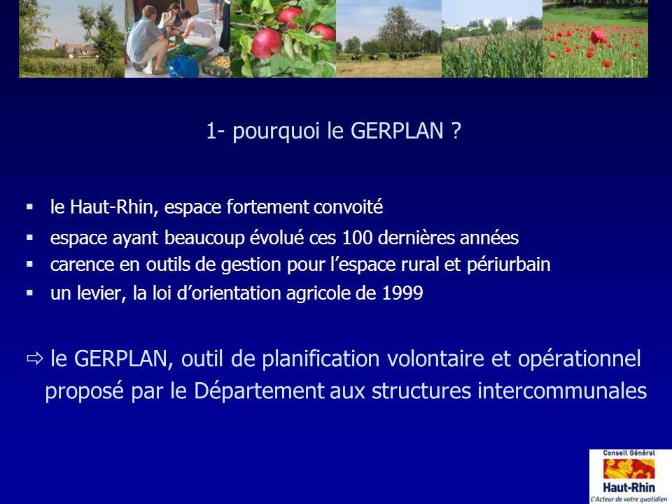 le GERPLAN, outil de planification volontaire et opérationnel