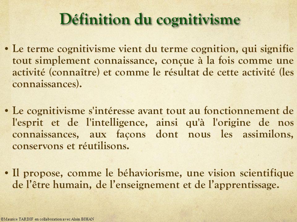 Définition du cognitivisme
