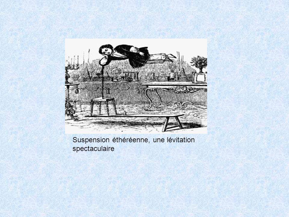 Suspension éthéréenne, une lévitation spectaculaire