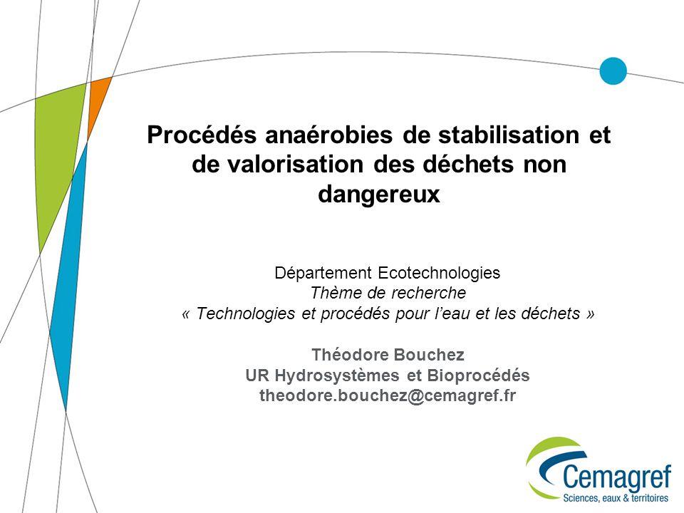 UR Hydrosystèmes et Bioprocédés