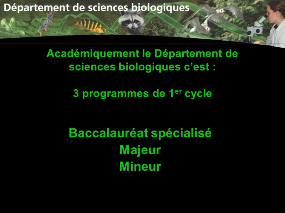 Baccalauréat spécialisé