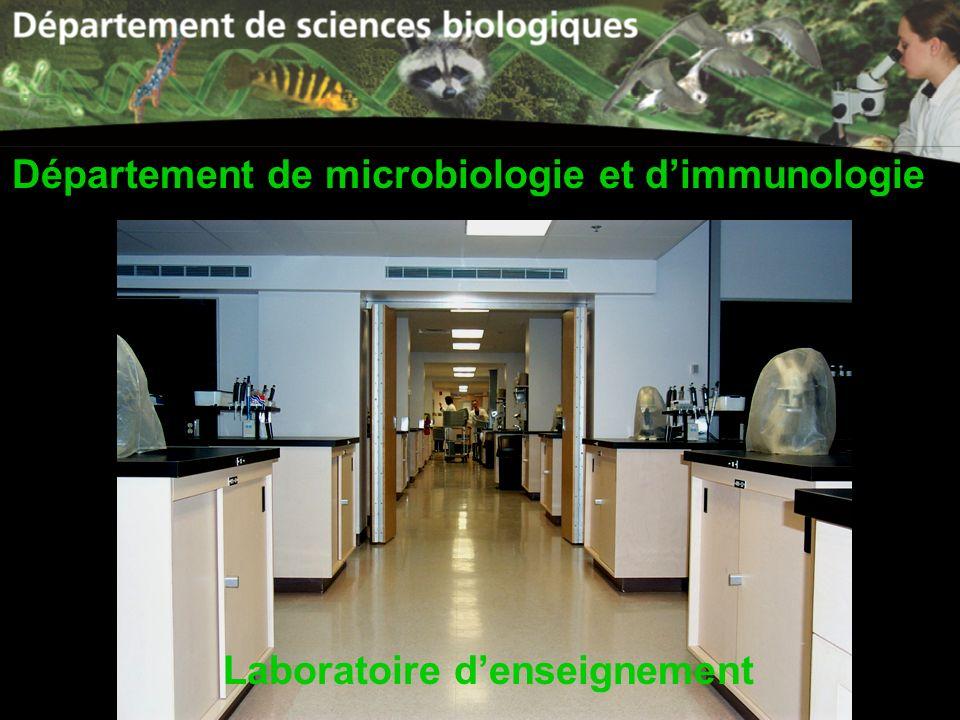 Département de microbiologie et d'immunologie