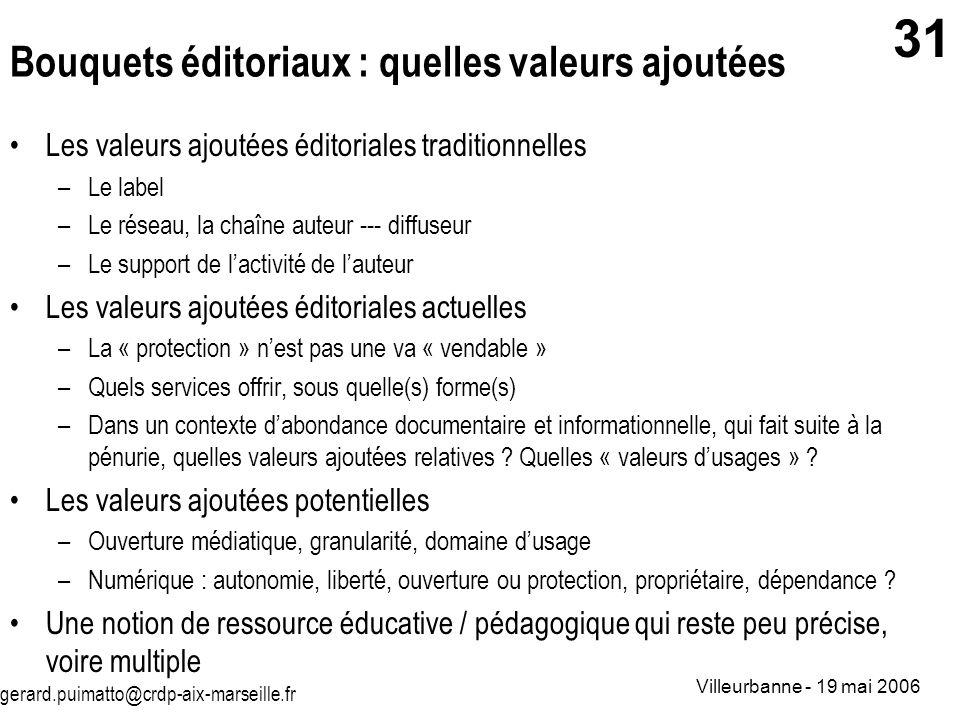 Bouquets éditoriaux : quelles valeurs ajoutées