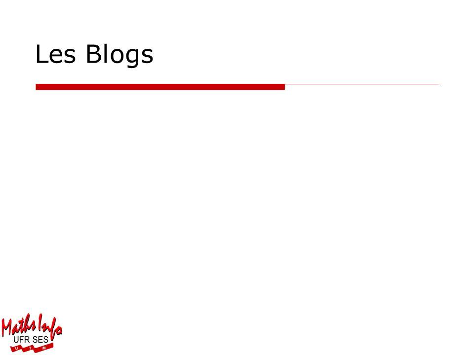 Les Blogs Département de Mathématiques et Informatique de Toulouse Le Mirail