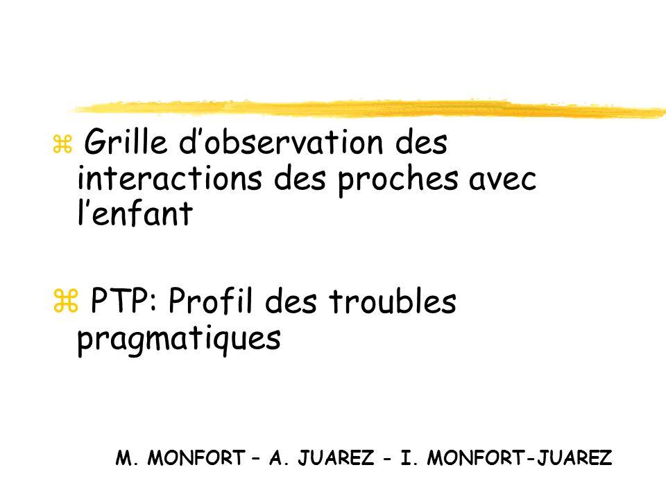 PTP: Profil des troubles pragmatiques