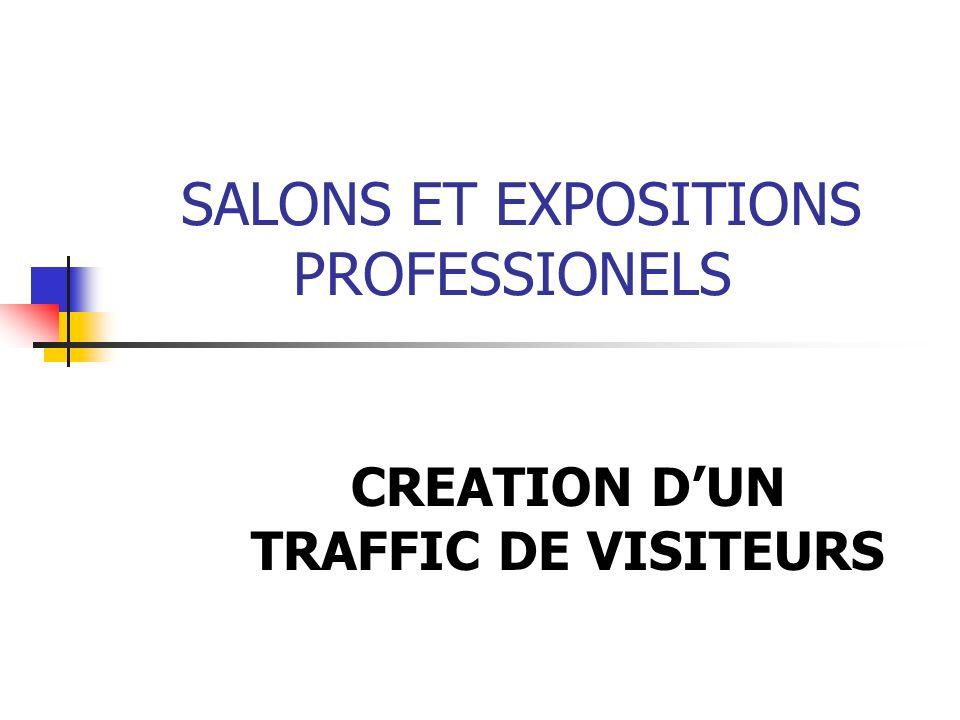 SALONS ET EXPOSITIONS PROFESSIONELS