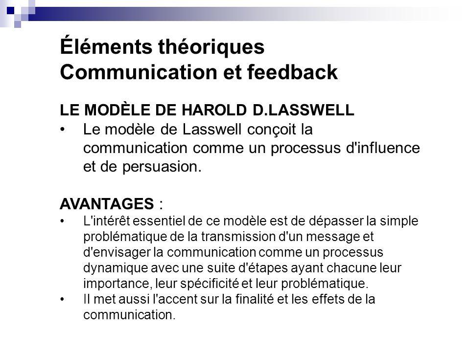 Communication et feedback