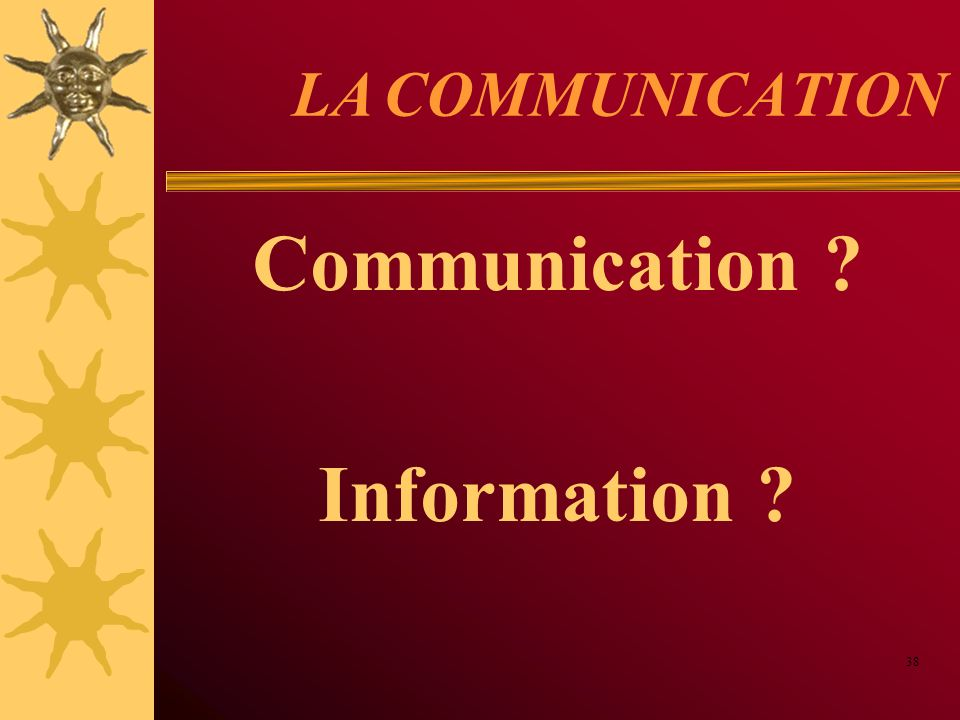 Communication Information