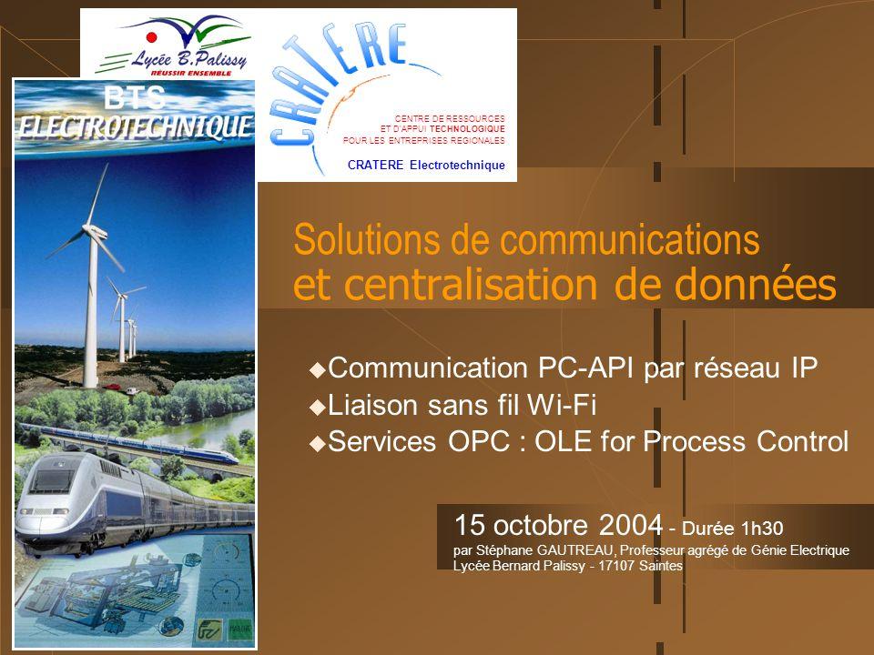 Solutions de communications et centralisation de données