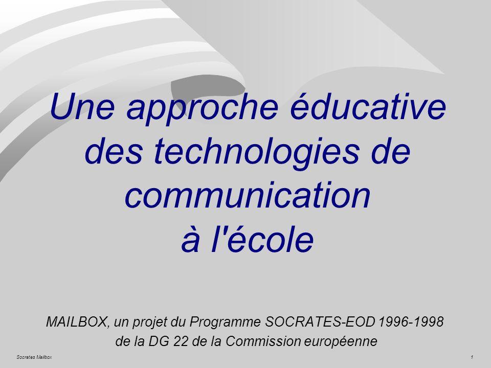 Une approche éducative des technologies de communication à l école