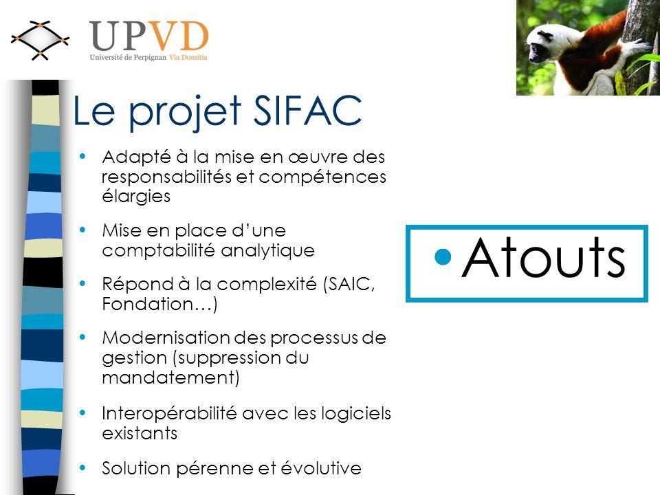 Le projet SIFAC Adapté à la mise en œuvre des responsabilités et compétences élargies. Mise en place d'une comptabilité analytique.