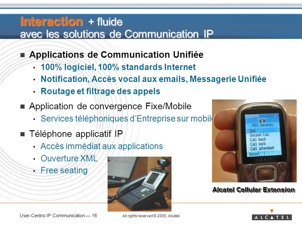 Interaction + fluide avec les solutions de Communication IP