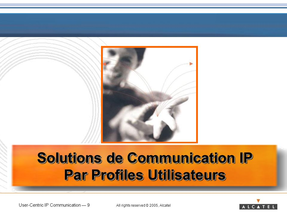 Solutions de Communication IP Par Profiles Utilisateurs