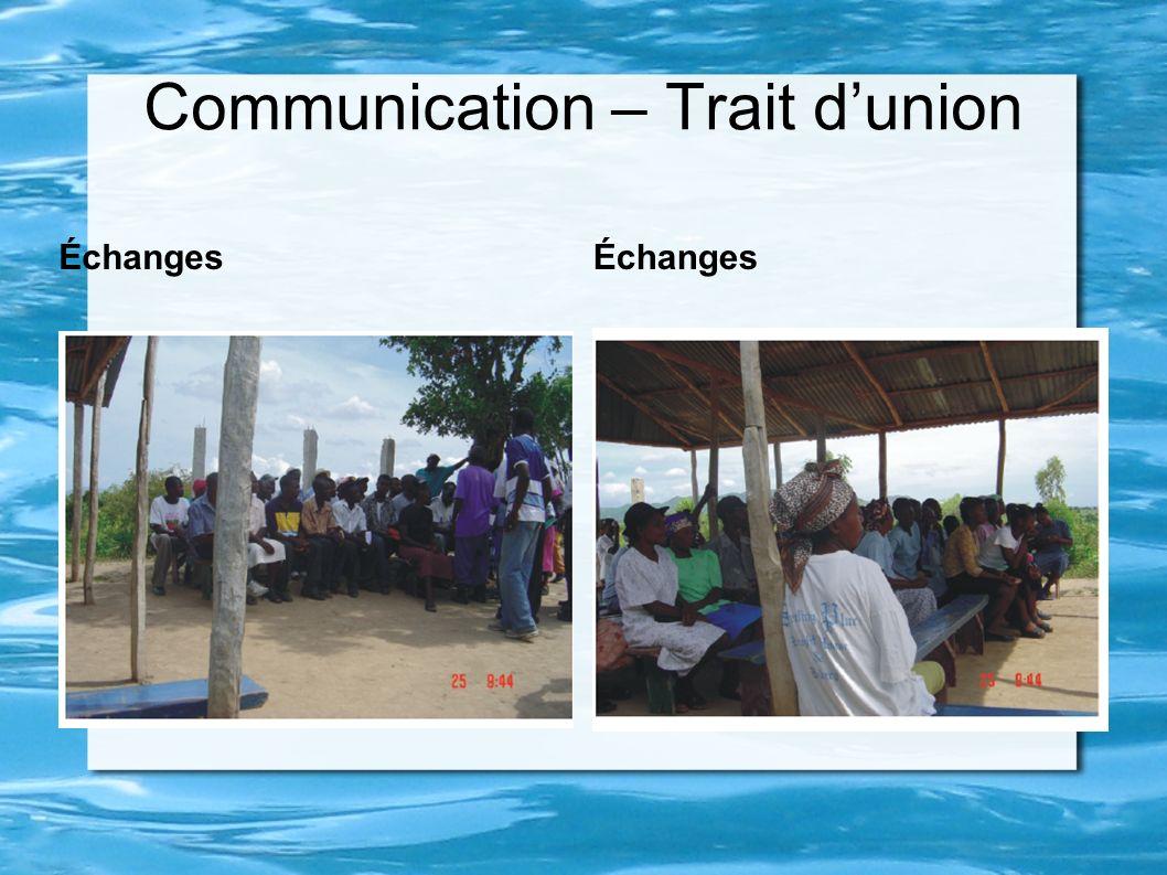 Communication – Trait d'union