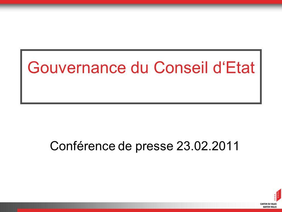 Gouvernance du Conseil d'Etat