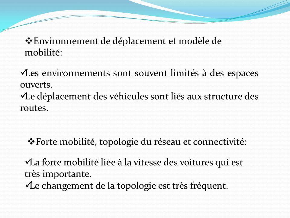 Environnement de déplacement et modèle de mobilité: