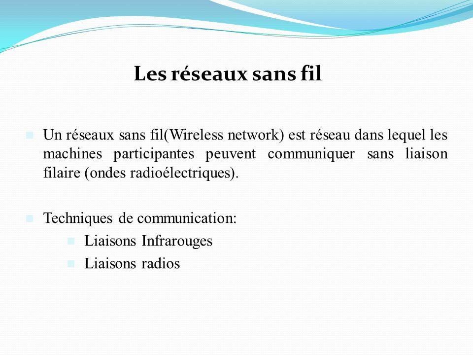 Les réseaux sans fil