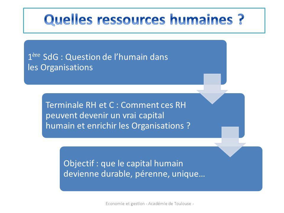 Quelles ressources humaines