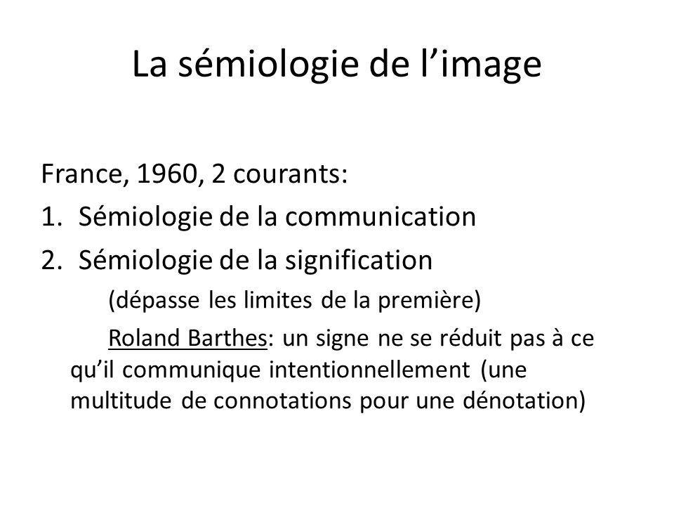 La sémiologie de l'image