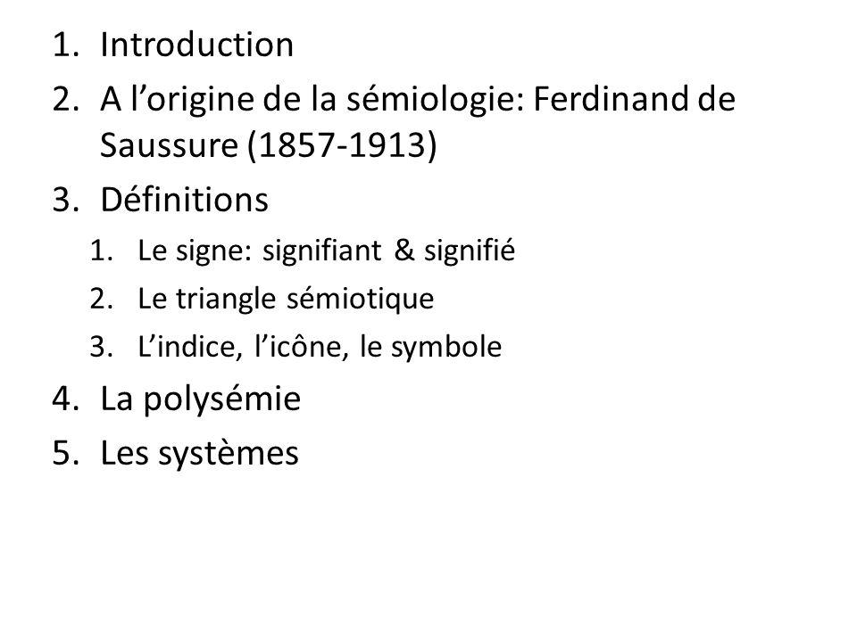 A l'origine de la sémiologie: Ferdinand de Saussure (1857-1913)