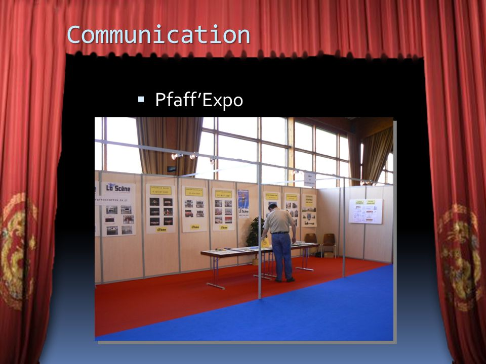 Communication Pfaff'Expo