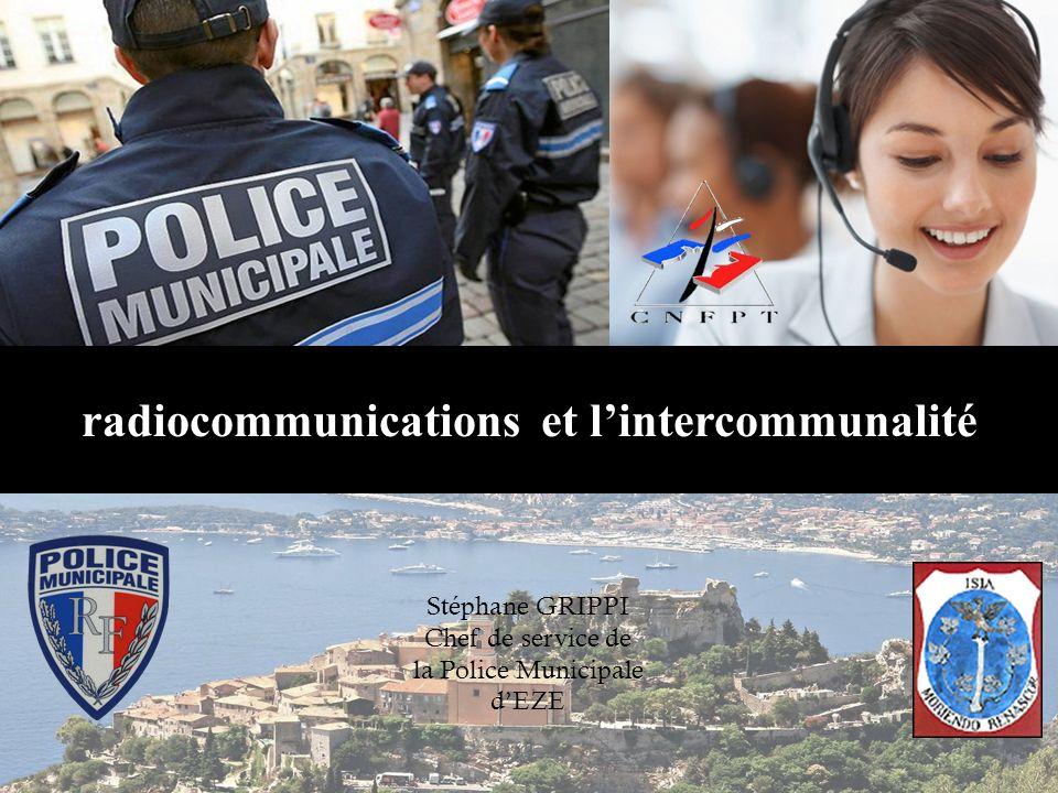 radiocommunications et l'intercommunalité