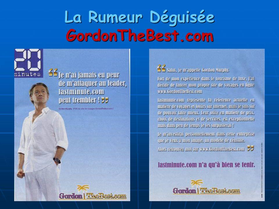 La Rumeur Déguisée GordonTheBest.com