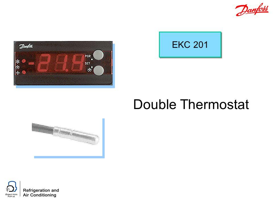 EKC 201 Double Thermostat