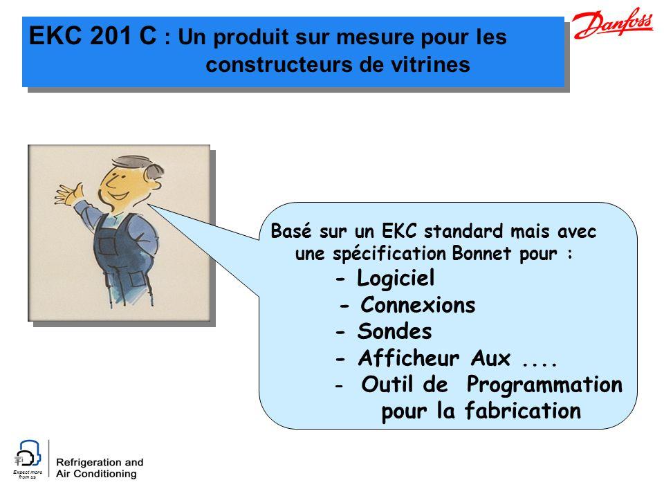 EKC 201 C : Un produit sur mesure pour les constructeurs de vitrines