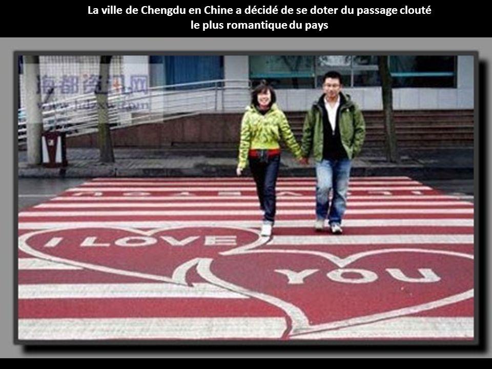 La ville de Chengdu en Chine a décidé de se doter du passage clouté