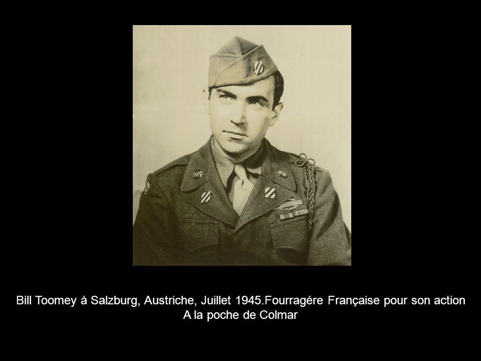 Bill Toomey à Salzburg, Austriche, Juillet 1945