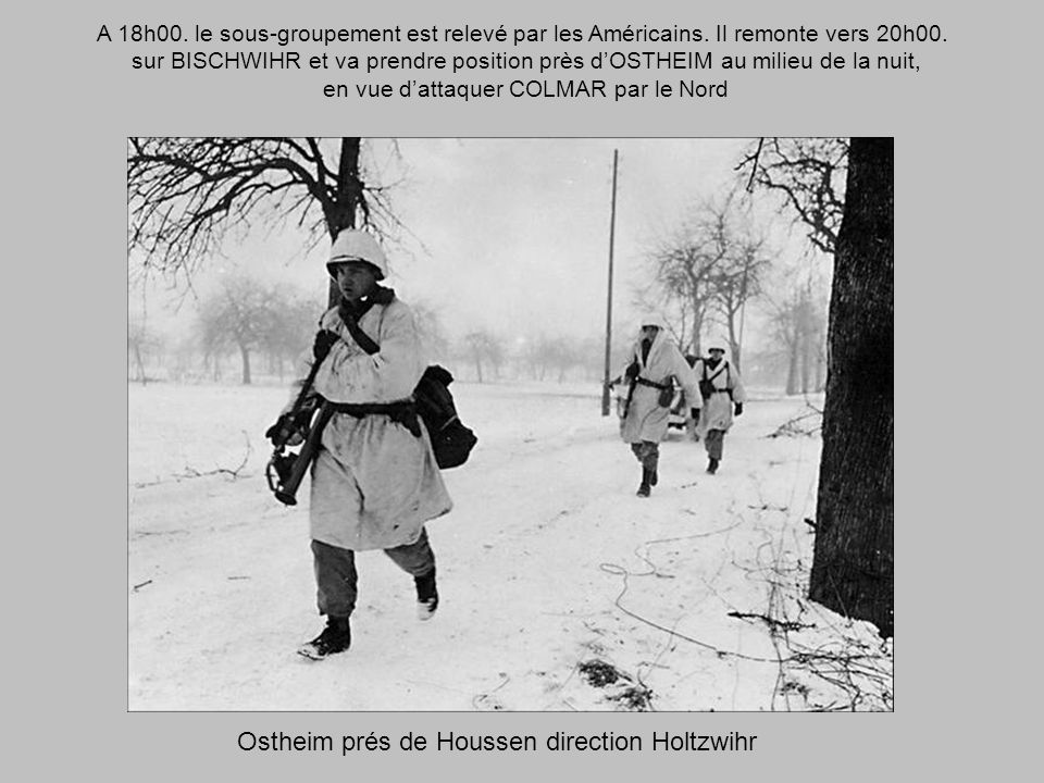 Ostheim prés de Houssen direction Holtzwihr