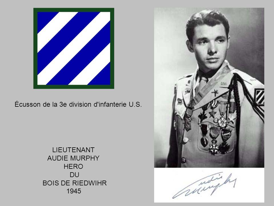 Écusson de la 3e division d infanterie U.S.