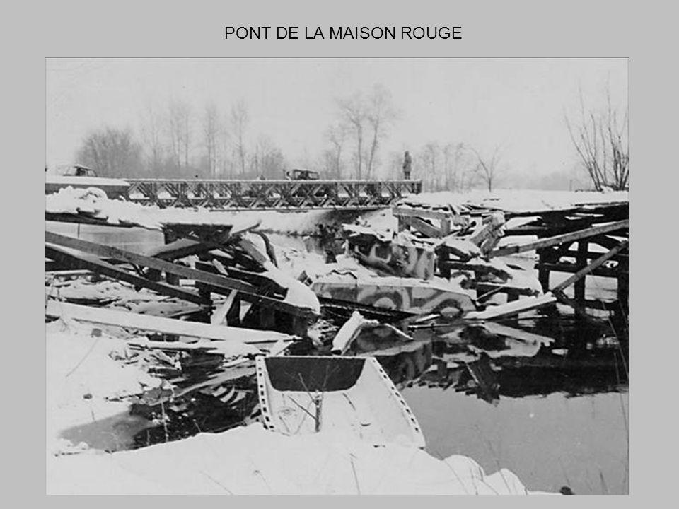 PONT DE LA MAISON ROUGE