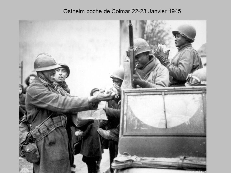 Ostheim poche de Colmar 22-23 Janvier 1945