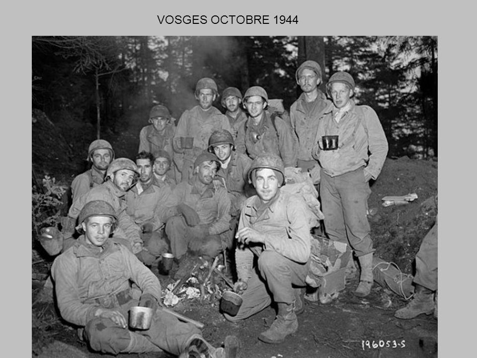VOSGES OCTOBRE 1944