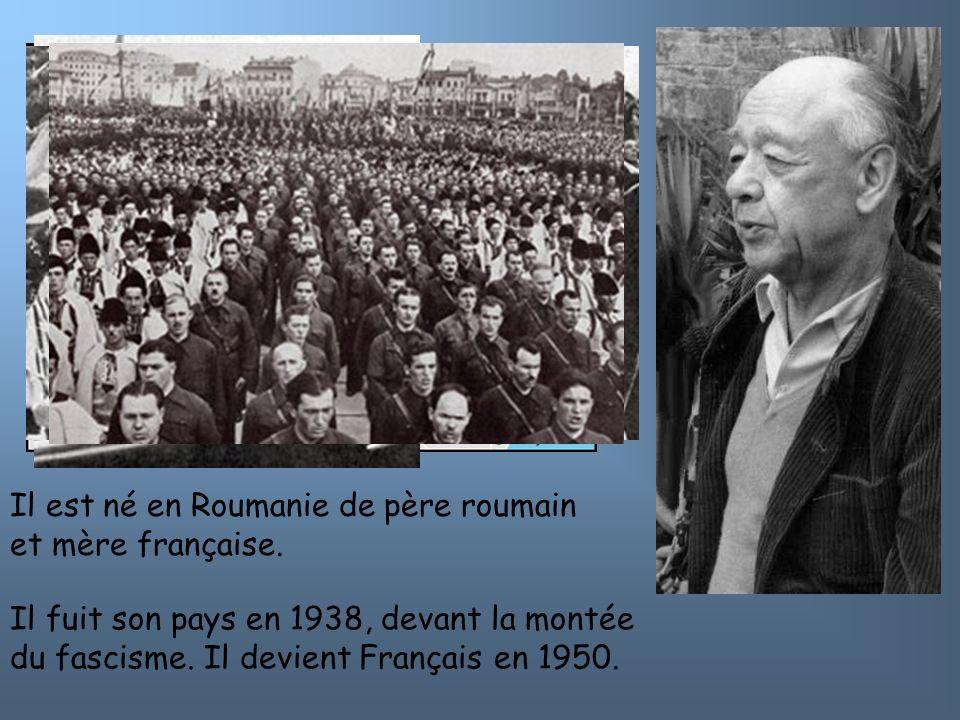 Il est né en Roumanie de père roumain et mère française.