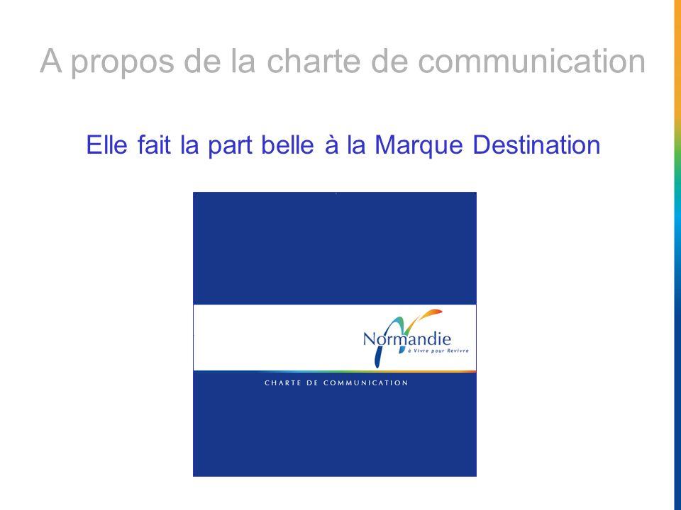 A propos de la charte de communication